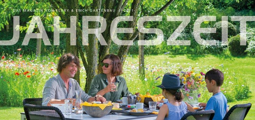 Jahreszeit Gartenmagazin 2021