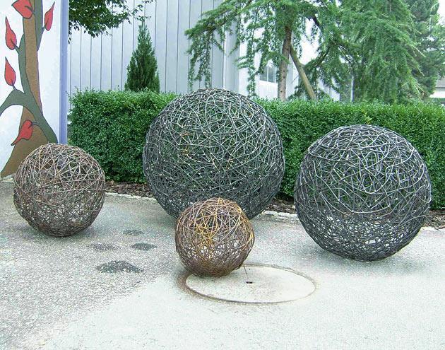 Gartendekorationen | Flury-Emch Gartenbau