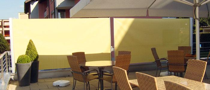 windschutz und sichtschutz f r terrasse und garten. Black Bedroom Furniture Sets. Home Design Ideas