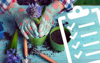 Checkliste Gartenarbeiten