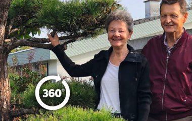 Gartengeschichte Langer, 360-Grad
