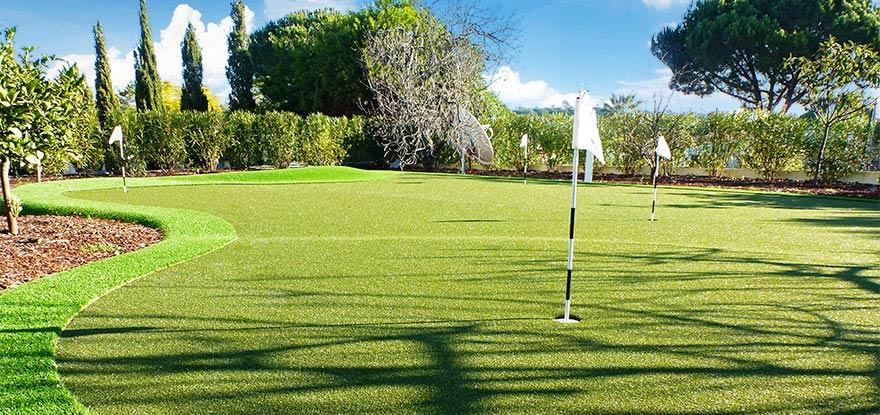 Golfrasen anlegen