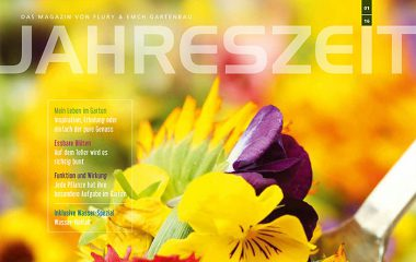 Kundenmagazin Jahreszeit Frühjahr 2016