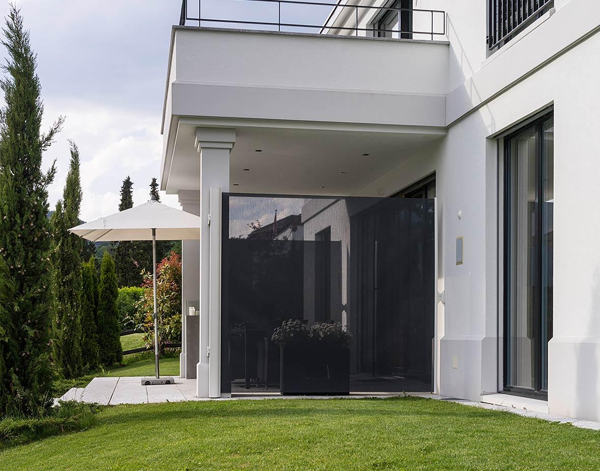 Sichtschutz und Windschutz Terrasse