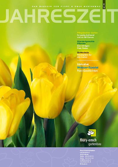 Kundenmagazin Jahreszeit Frühjahr 2015