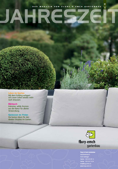 Kundenmagazin Jahreszeit Frühjahr 2012