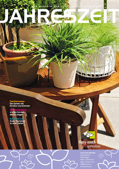 Kundenmagazin Jahreszeit Frühjahr 2013